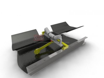 Конвейерные весы ВНКА на одной роликоопоре с одним тензодатчиком (1+1)