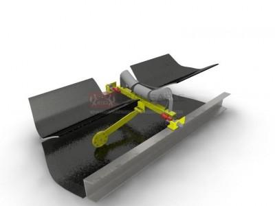 Конвейерные весы ВНКА на одной роликоопоре с двумя тензодатчиками(1+2)