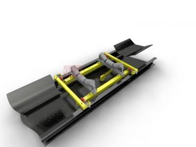 Конвейерные весы ВНКА на двух роликоопорах с двумя тензодатчиками(2+2×2)