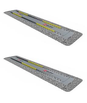 Вагонные статические весы ВЖД фундаментного исполнения от 20 до 200 тонн